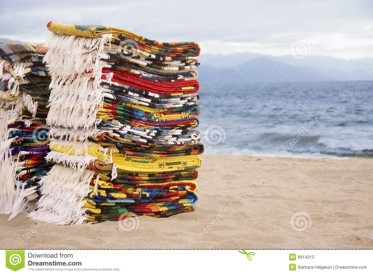 Mexican Blankets Stock Image Image Of Mexico Linen
