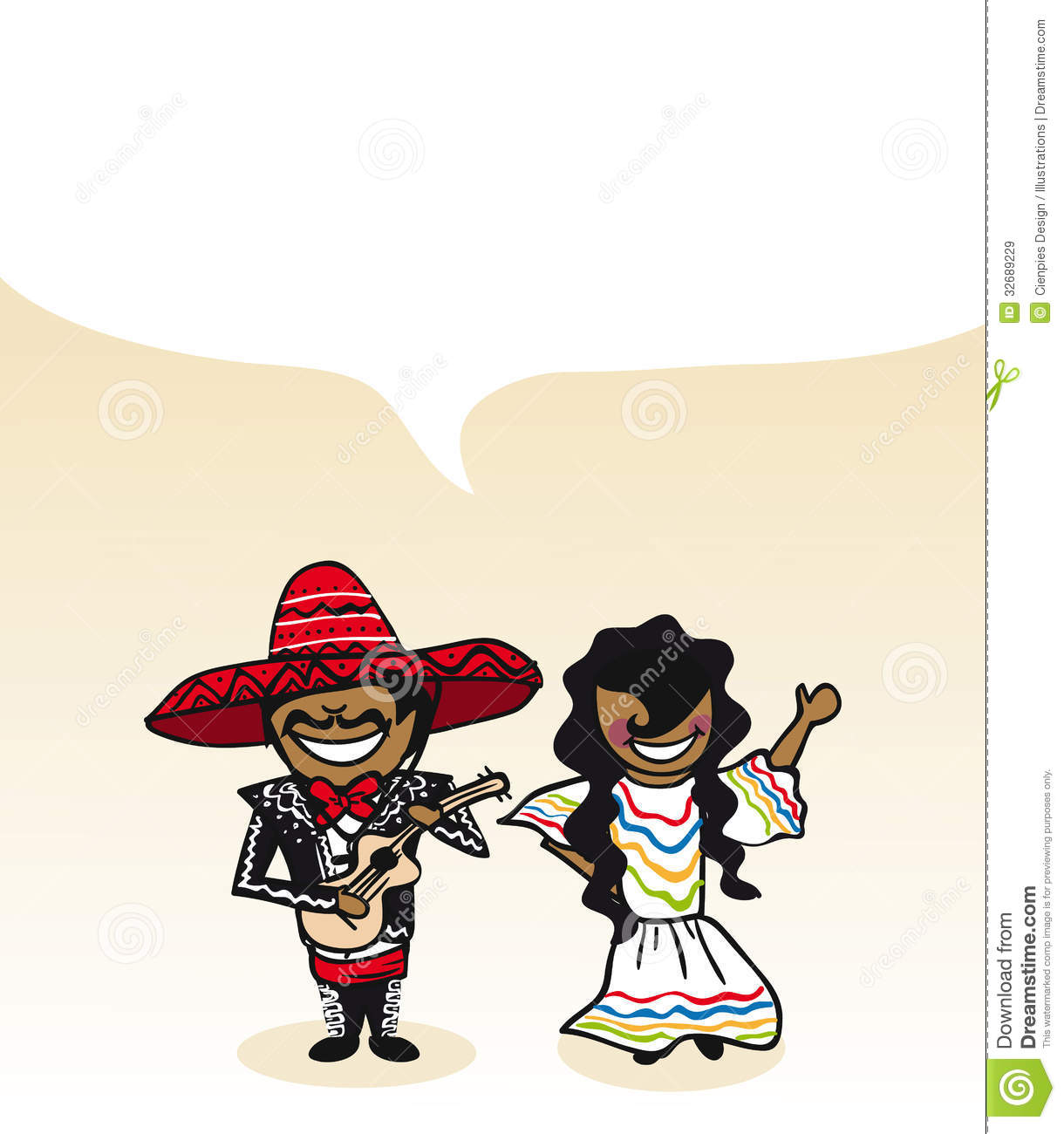 Mexican man and woman