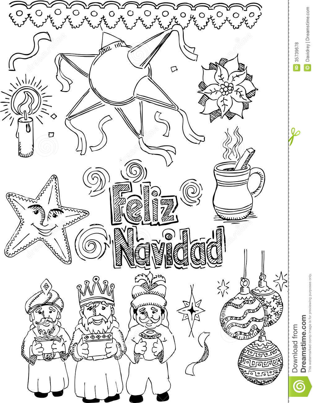 Mexican Christmas Royalty Free Stock Photos Image 35739678