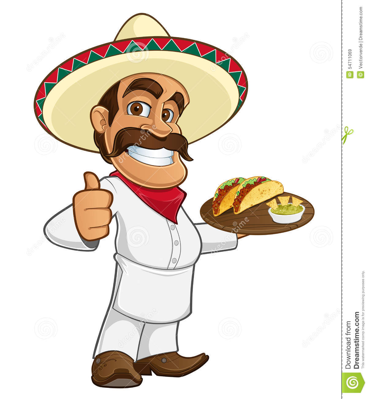 mexican cook stock vector illustration of restaurant boot clip art images book clip art free