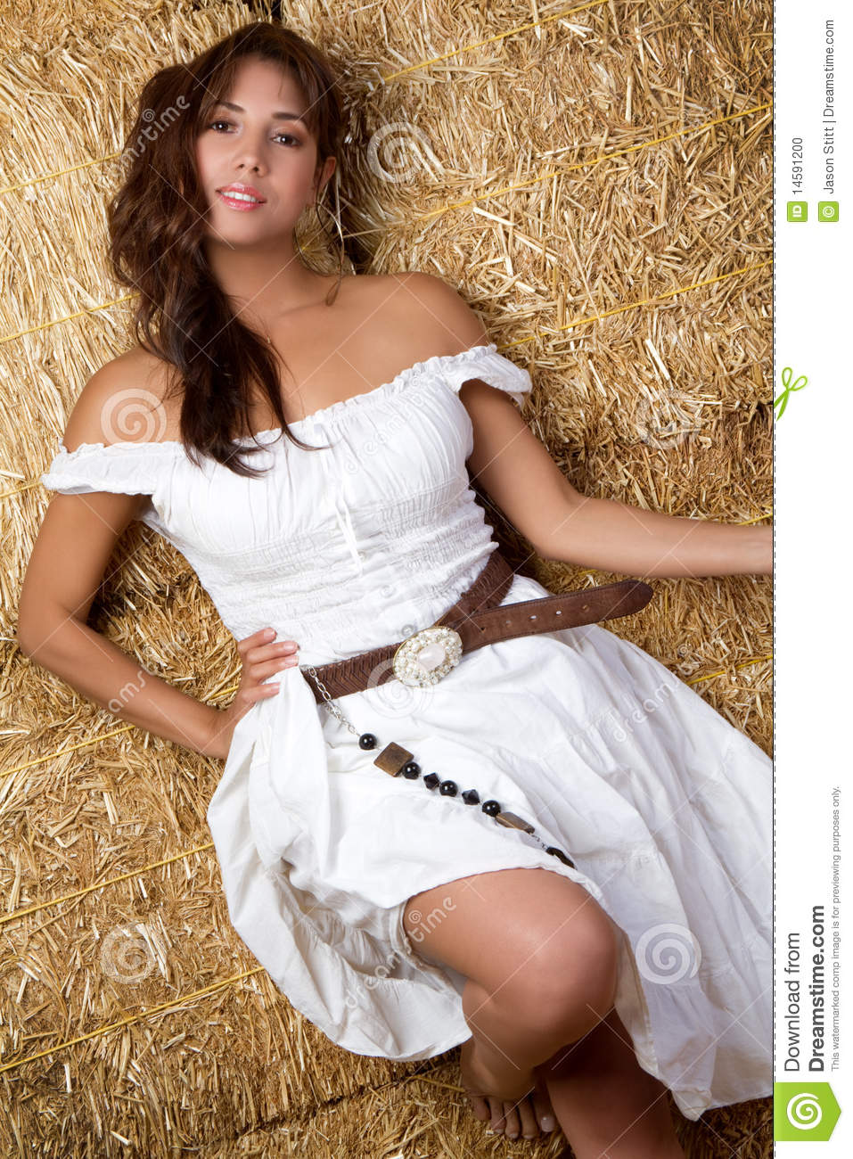 Mexican Country Girl Stock Photo - Image: 14591200