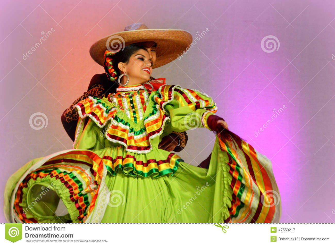 Mexican Dancing Couple