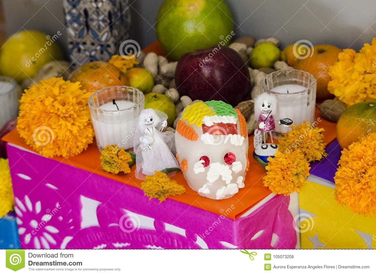 Mexican day of the dead offering altar editorial stock photo image mexican day of the dead offering altar mightylinksfo