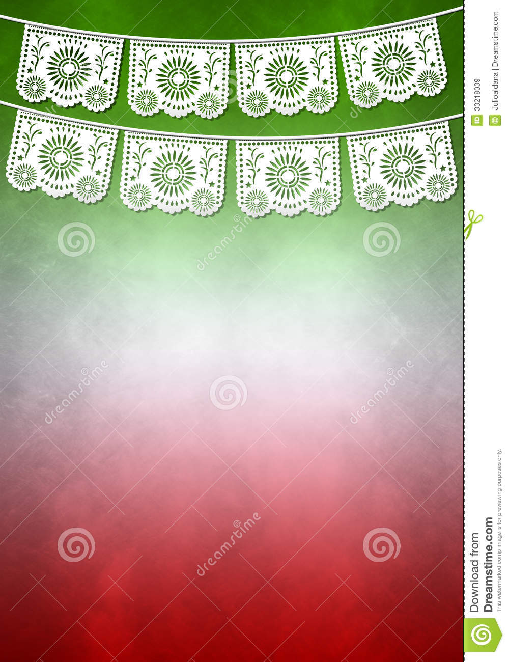 Mexican decoration poster template copy space stock for Mexican themed powerpoint template