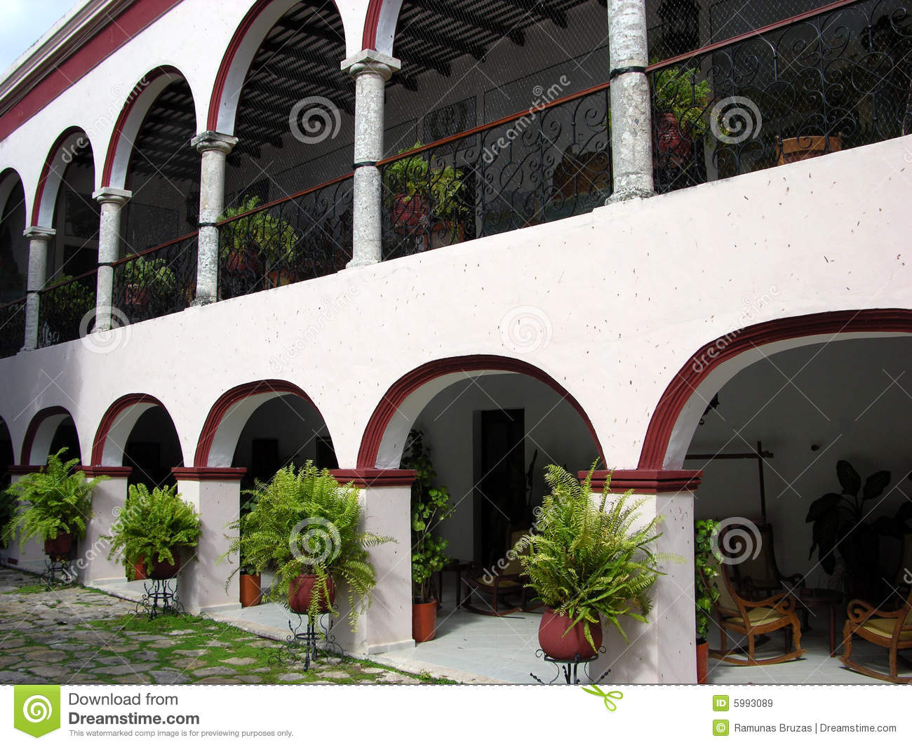 Mexican Exterior Royalty Free Stock Images Image 5993089