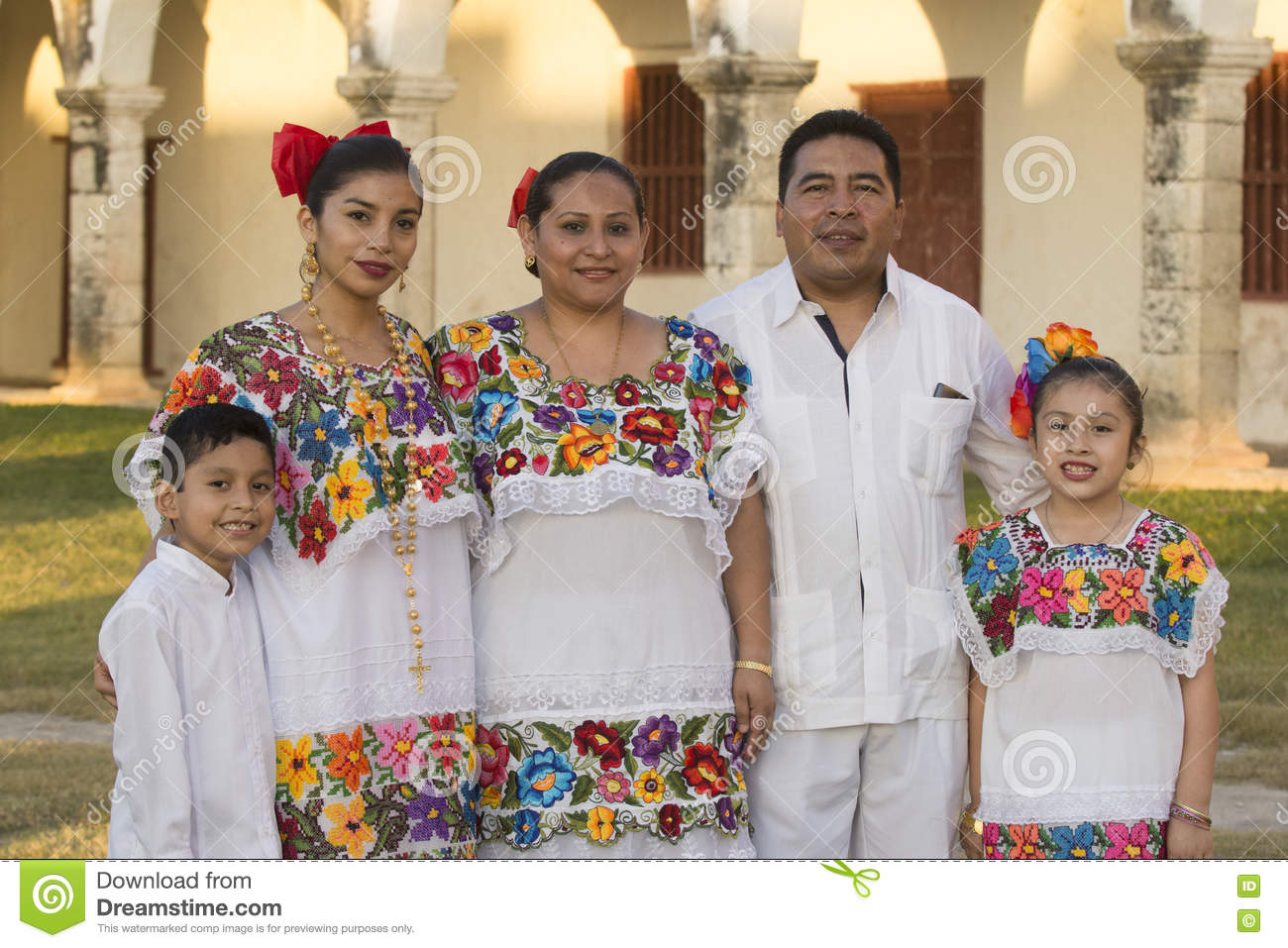 Mexican Family Editorial Image - Image: 80295730