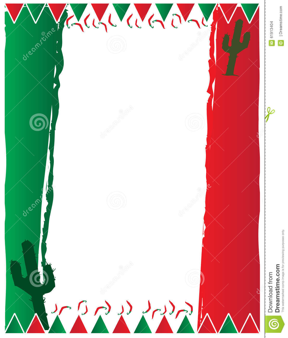 mexican flag background stock illustration image 61913404
