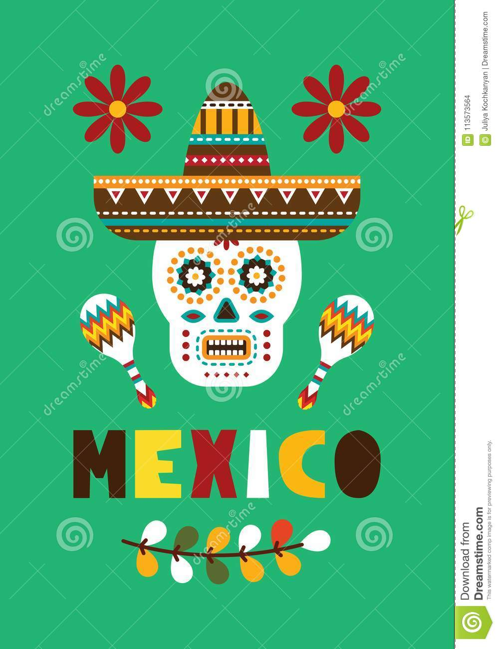 Mexican folk card invitation stock vector illustration of download mexican folk card invitation stock vector illustration of decorative holiday 113573564 stopboris Image collections