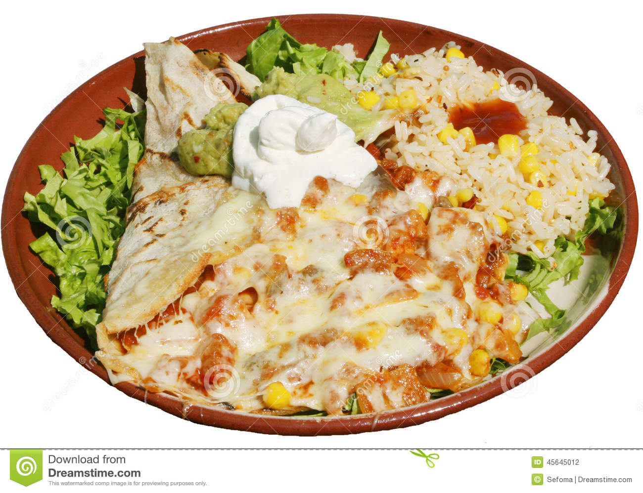 White Cheese Sauce For Mexican Food
