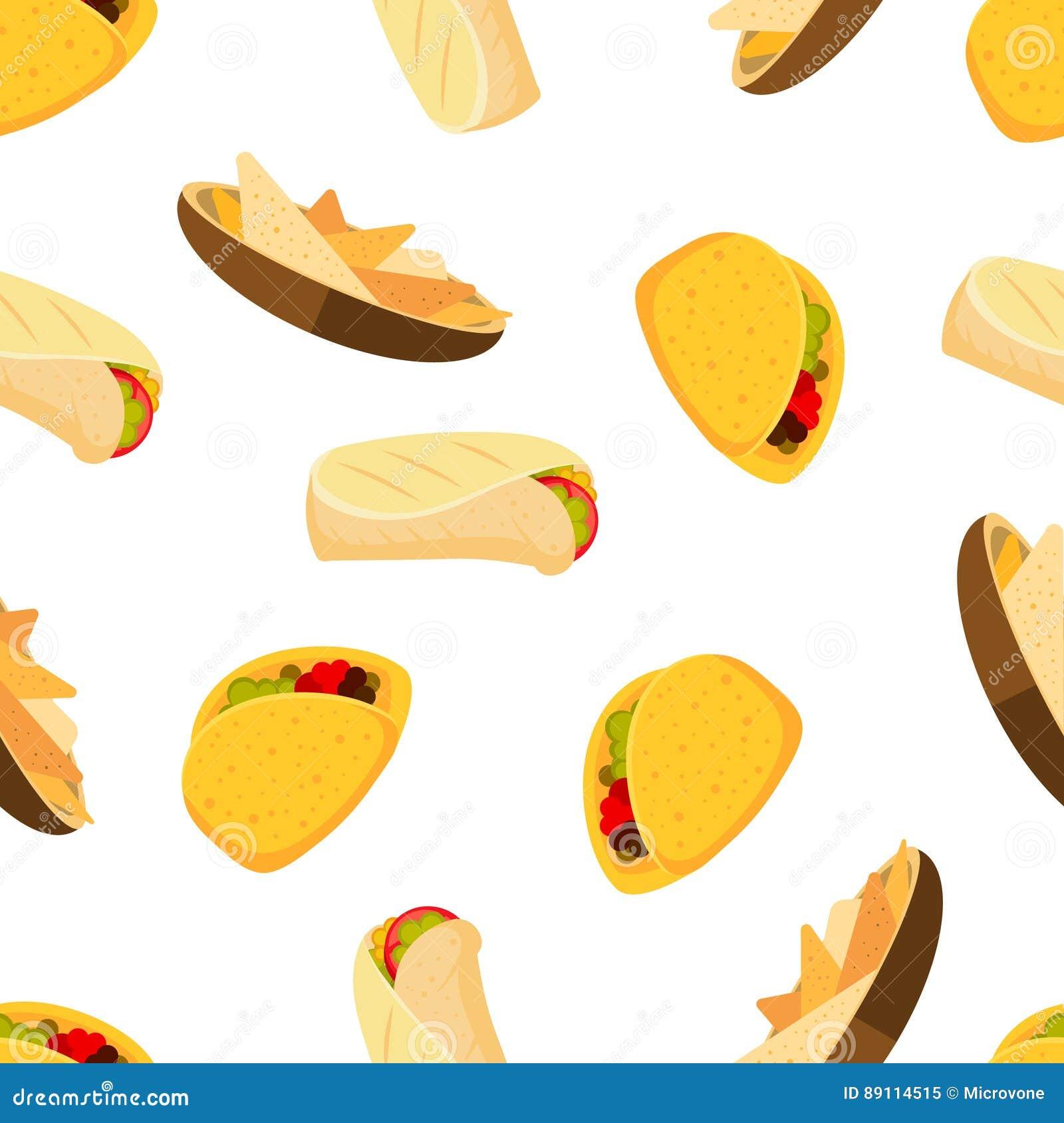 taco pattern wallpaper