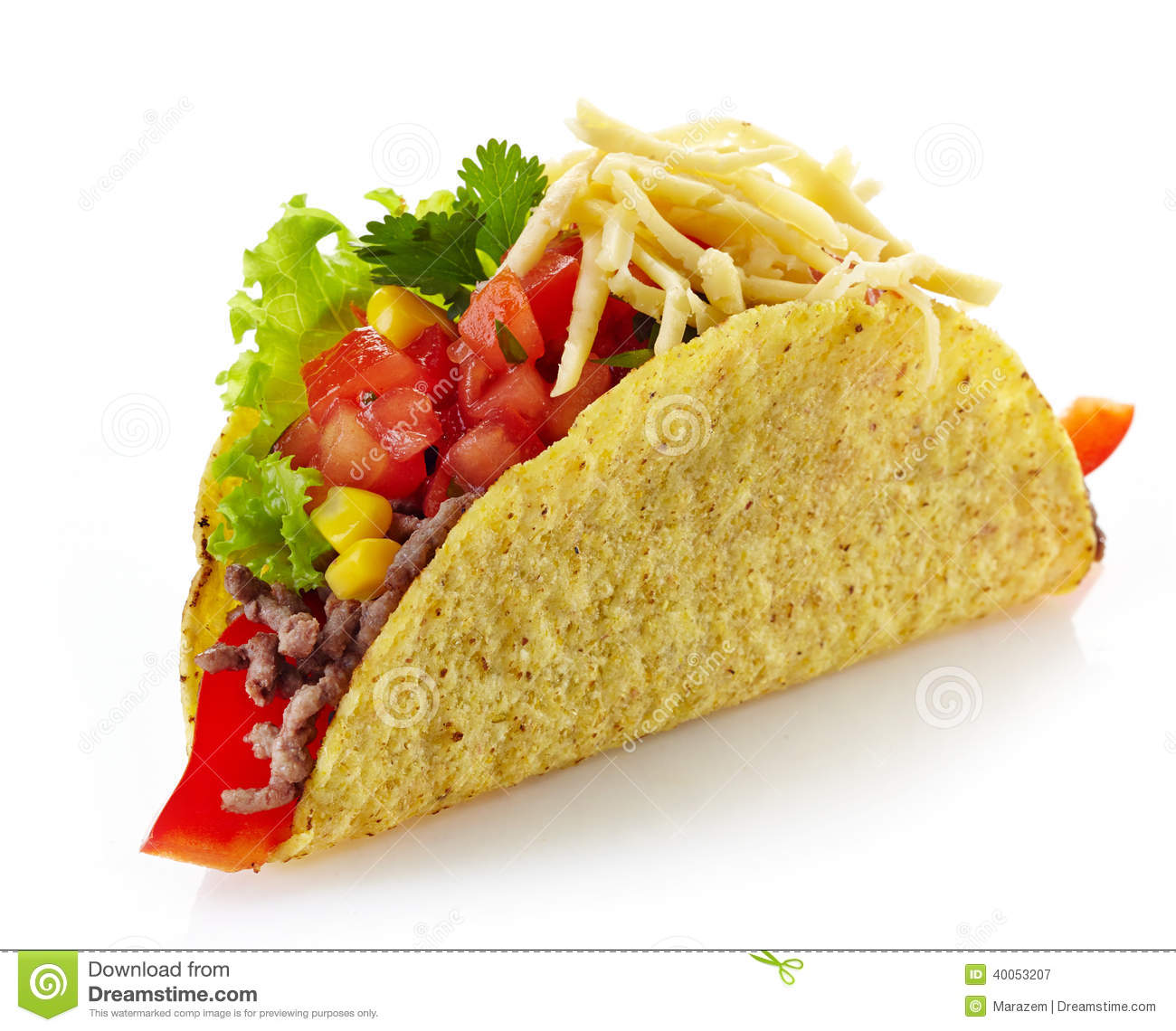 Mexican Food Tacos Stock Photo - Image: 40053207
