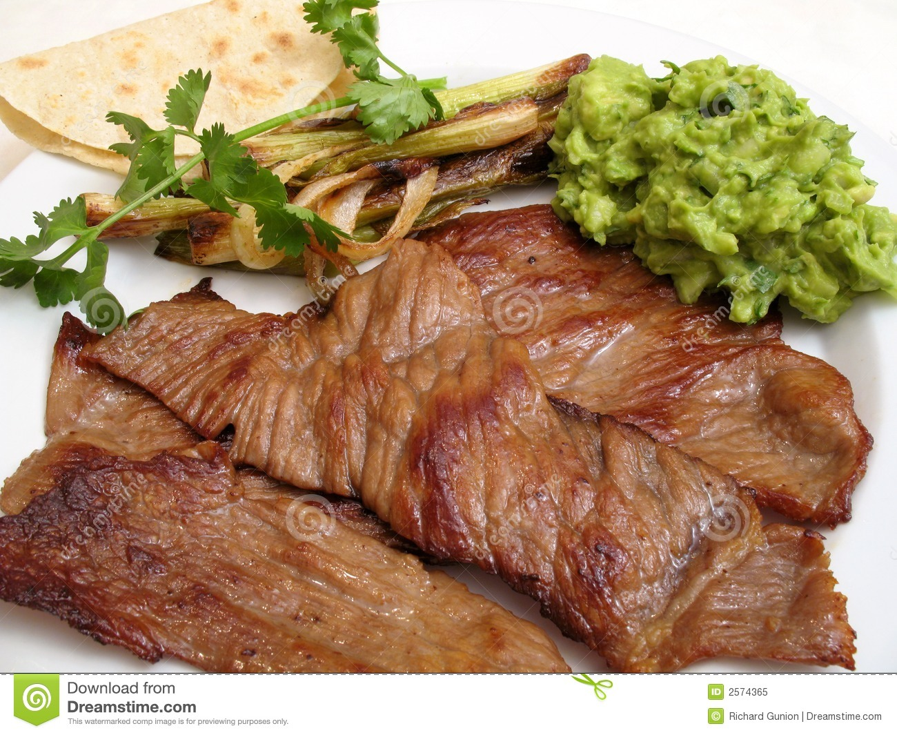 Mexican Fried Beef (Cecina) Royalty Free Stock Photo - Image: 2574365