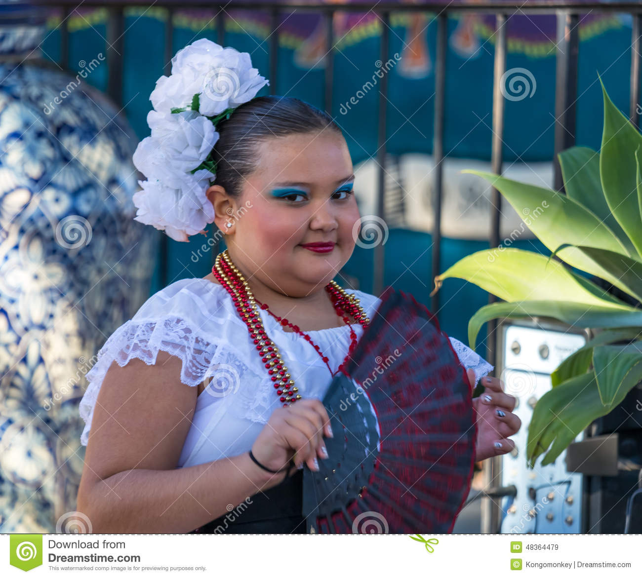 Mexican Girl Editorial Stock Image Image Of Festival