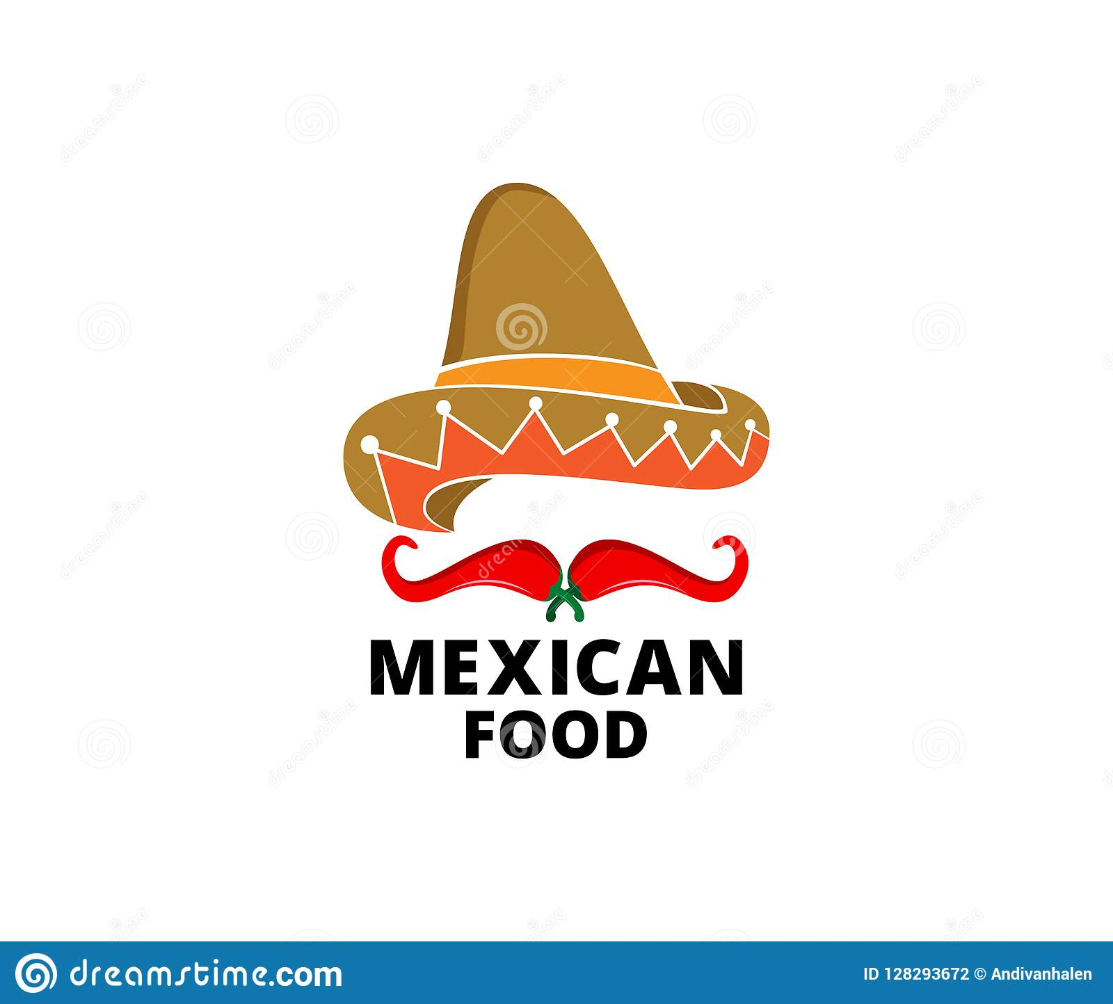 chili hot and spicy food vector logo design inspiration for mexican cuisine  brand 1cc141d64e6