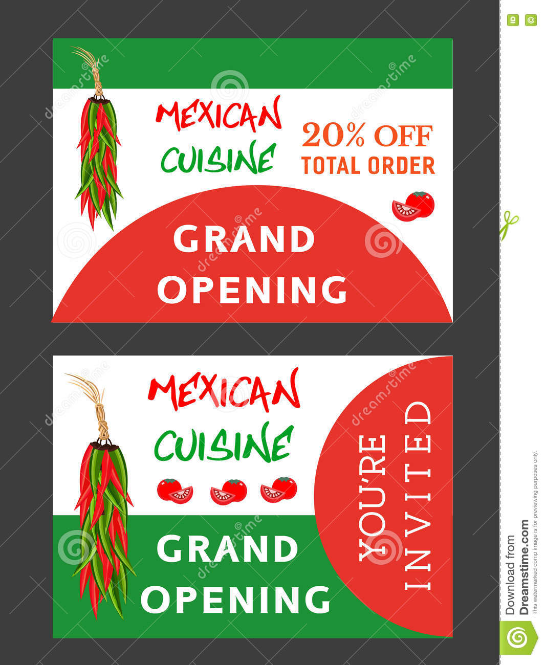 Mexican Hot Food Stock Vector Illustration Of Grand 74566772