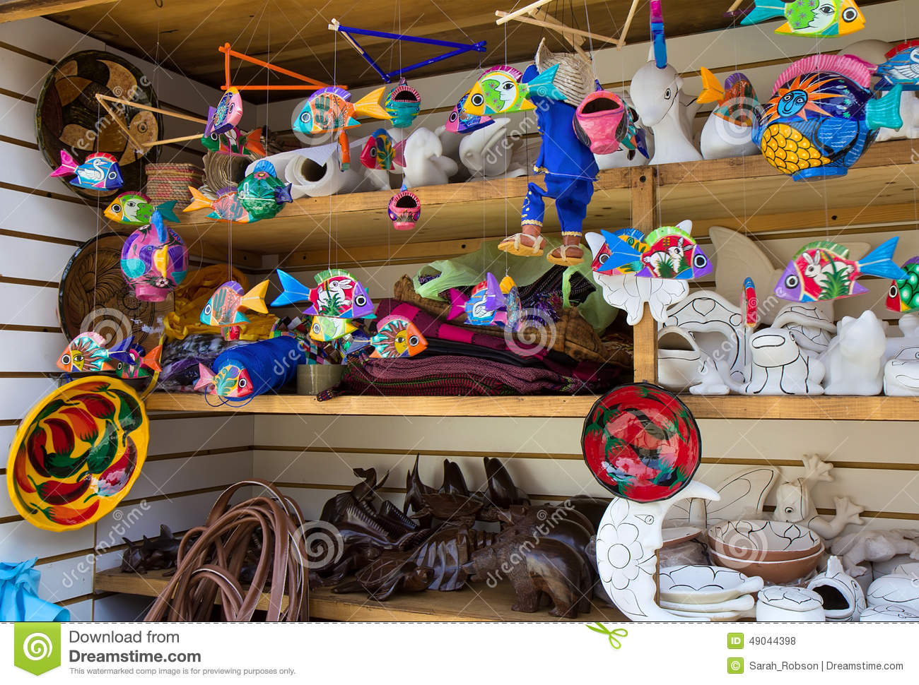 Mexican local crafts stock photo image 49044398 for Crafts to make for sale