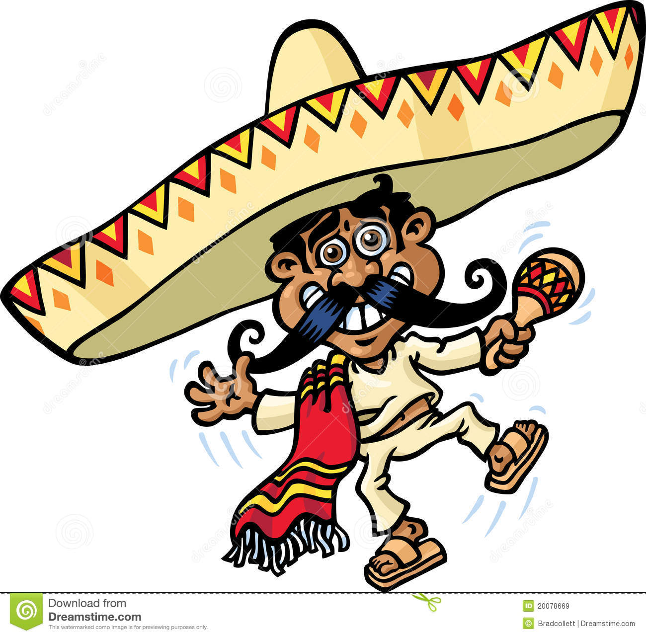 Mexican Musician Royalty Free Stock Images - Image: 20078669