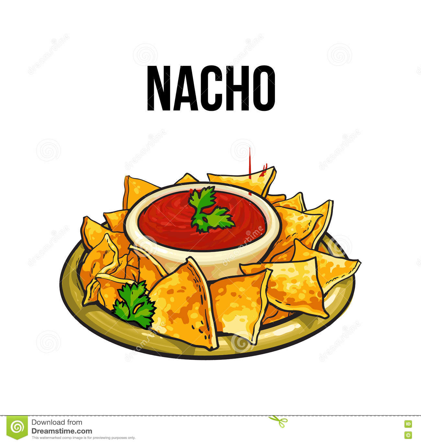 Mexican clip art, Nachos clip art, Taco clip art (17883)   Illustrations    Design Bundles   Clip art, Book cover invitation, Mexican food recipes