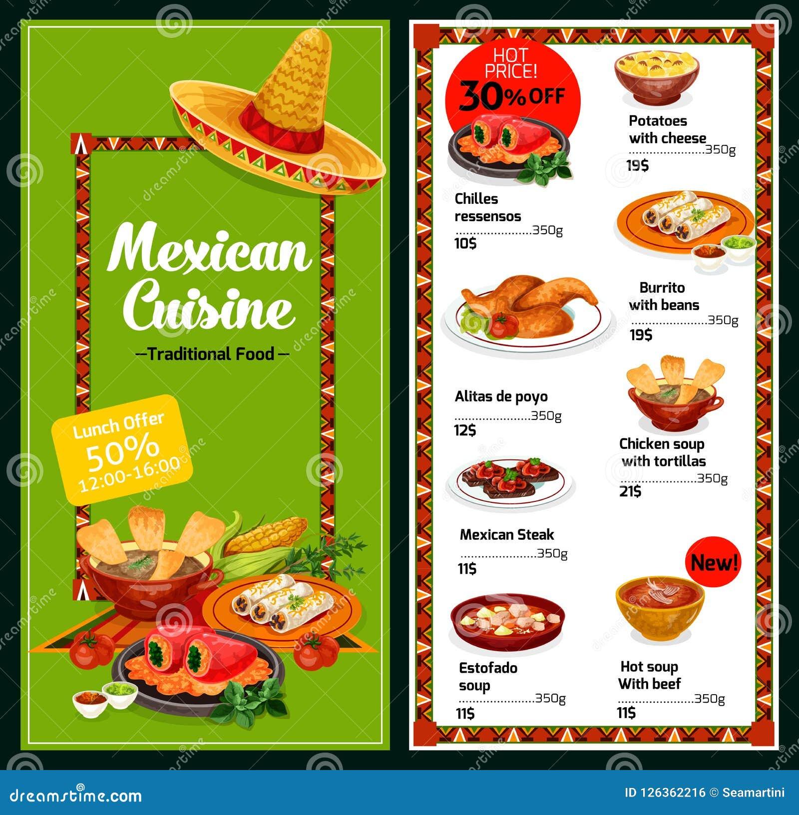 Mexican Restaurant Menu Stock Illustrations 9 644 Mexican Restaurant Menu Stock Illustrations Vectors Clipart Dreamstime