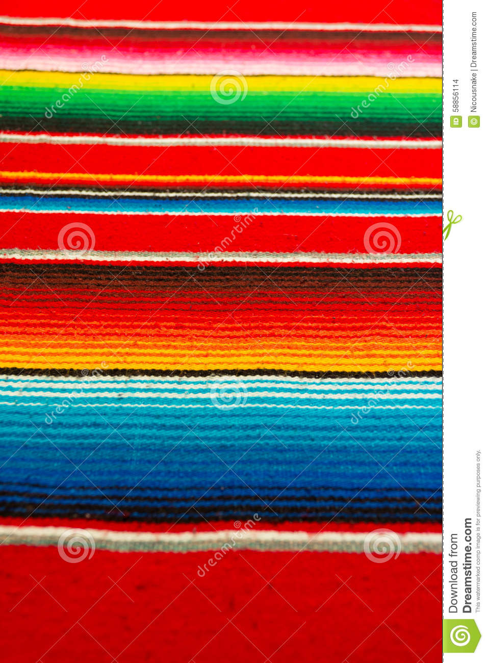 Mexican Poncho Stock Photo - Image: 58856114 Mexican Blanket Texture