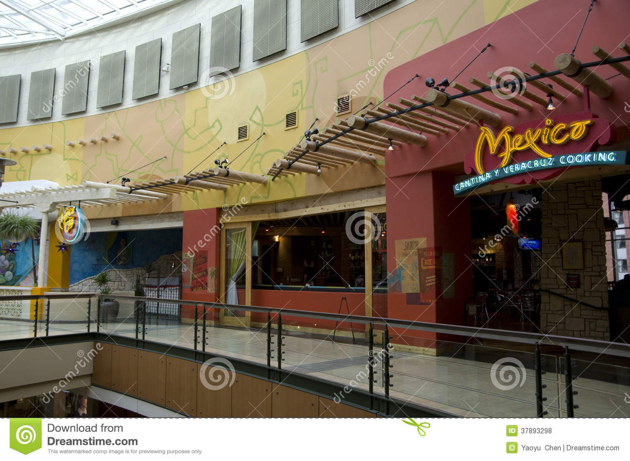 Mexican Restaurant Exterior Editorial Stock Photo Image
