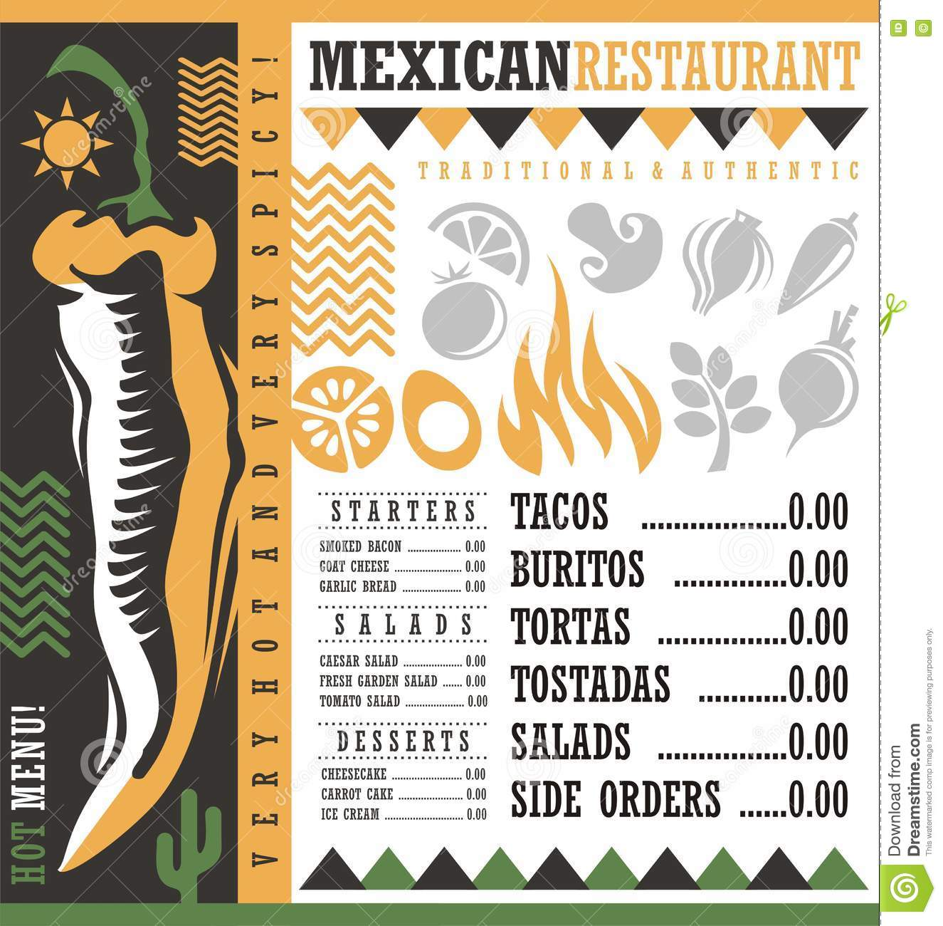 menu background design world of printable and chart