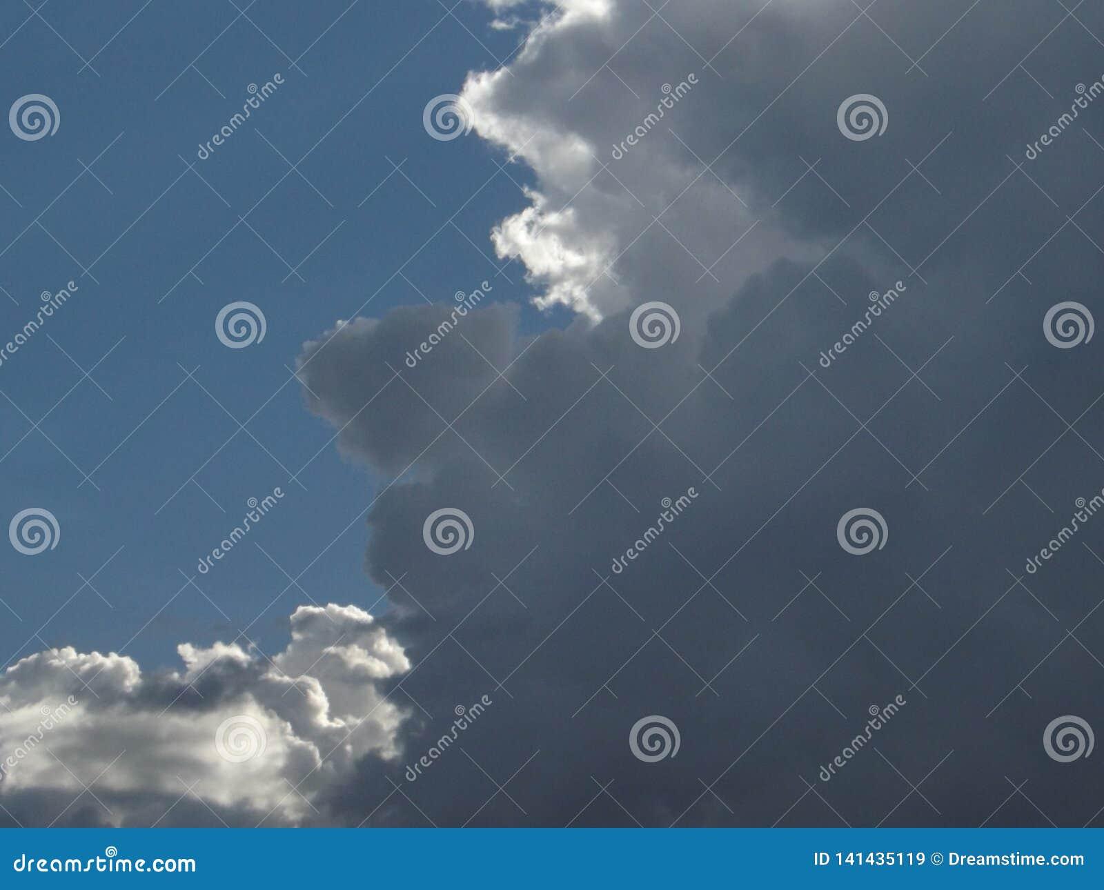 Mexican cloudy skyline