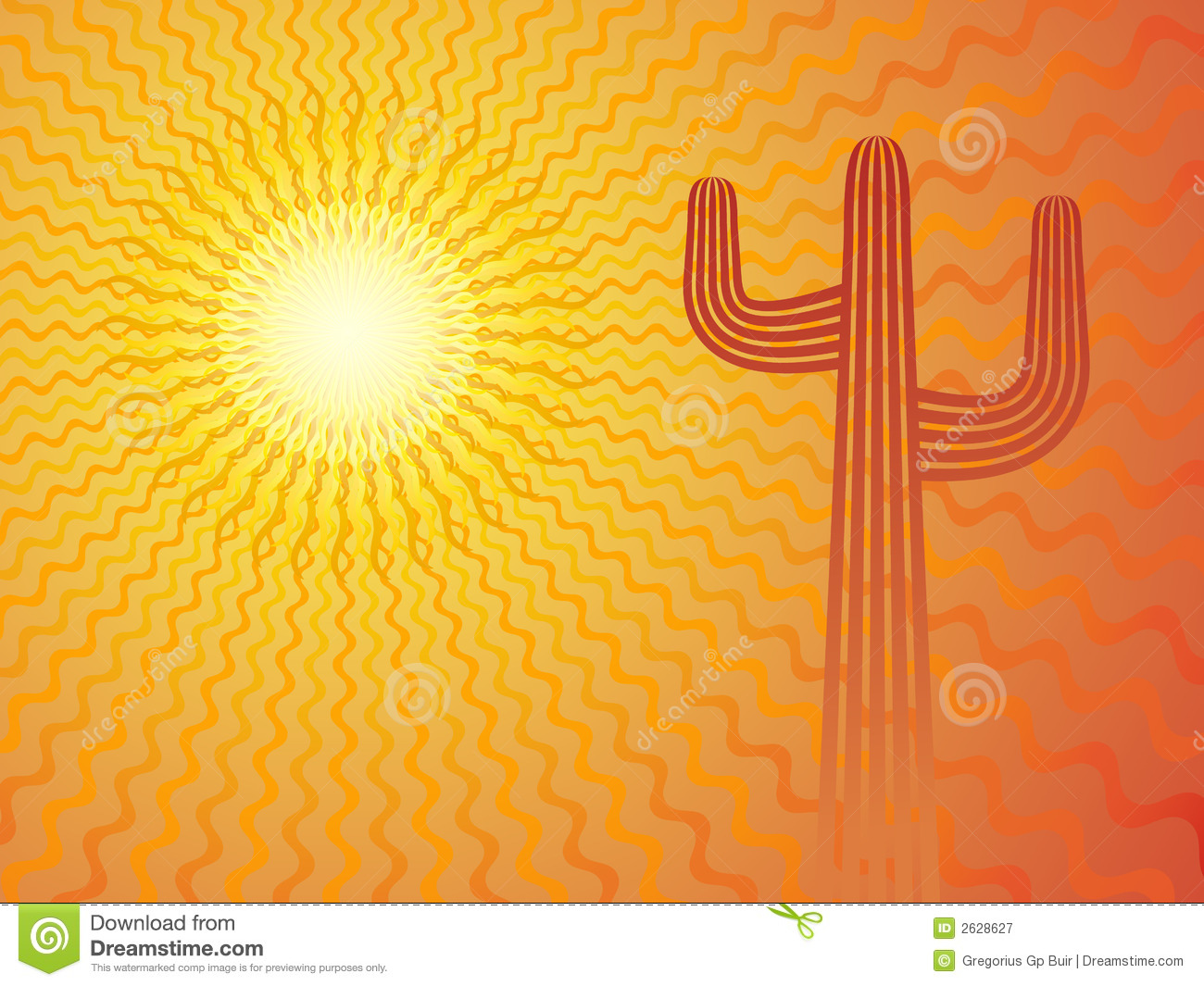 Mexican sun stock vector illustration of shining dryness for Mexican themed powerpoint template