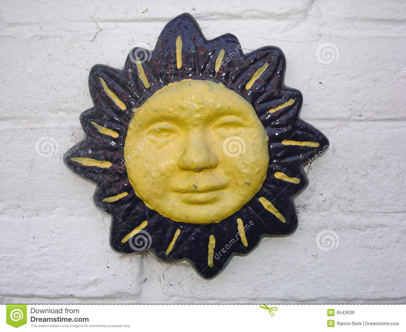 Mexican sun stock photo. Image of blue, decorative, traditional ...