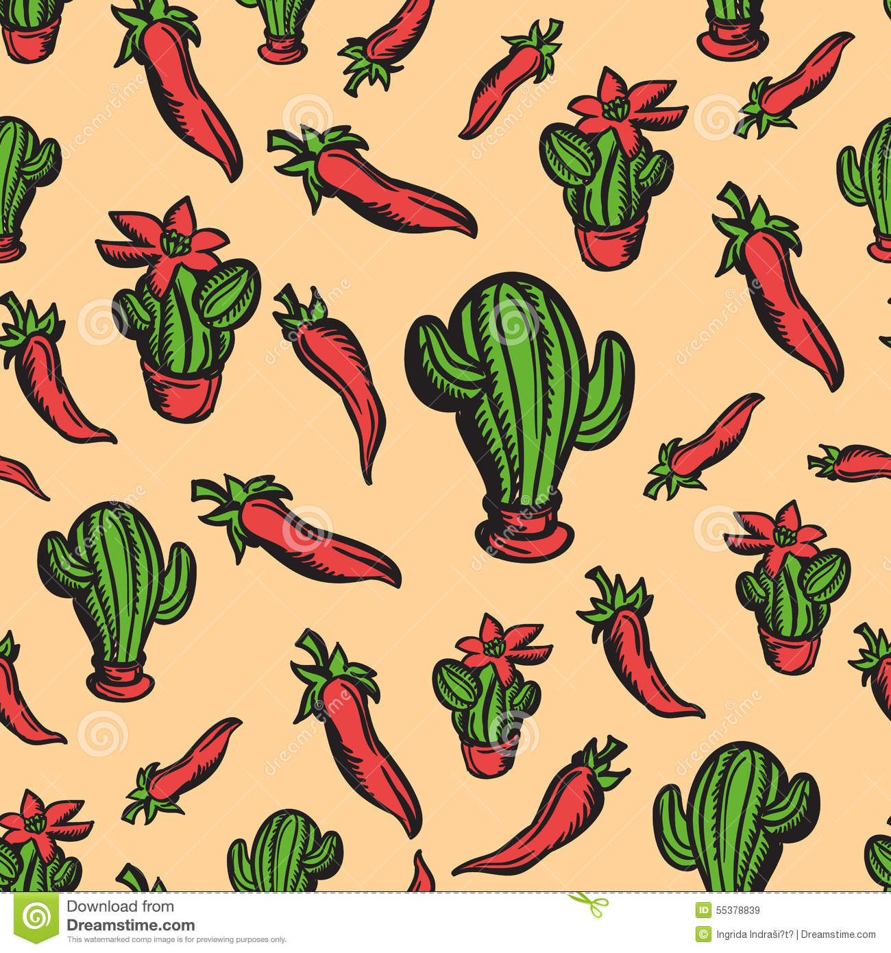 Mexican Themed Wallpaper Stock Illustrations 10 Mexican Themed