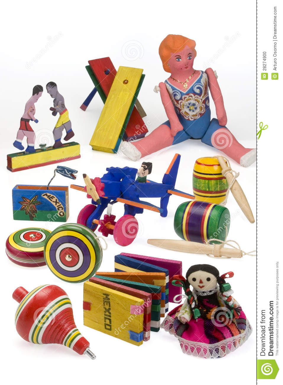 mexican toys stock photo   image 28274900
