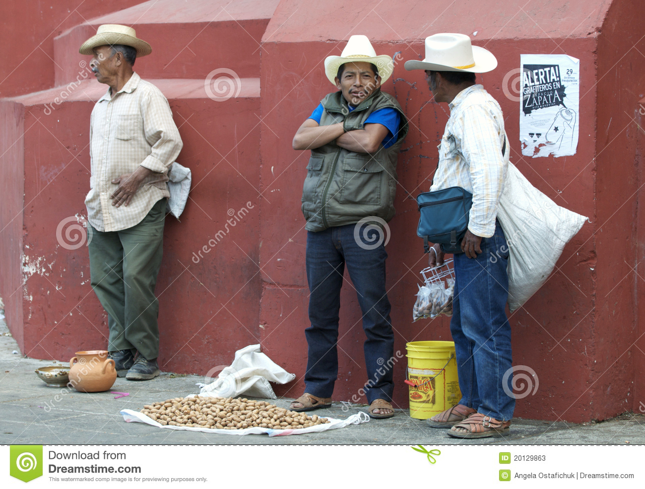 Mexican Workers Editorial Stock Photo Image Of Male