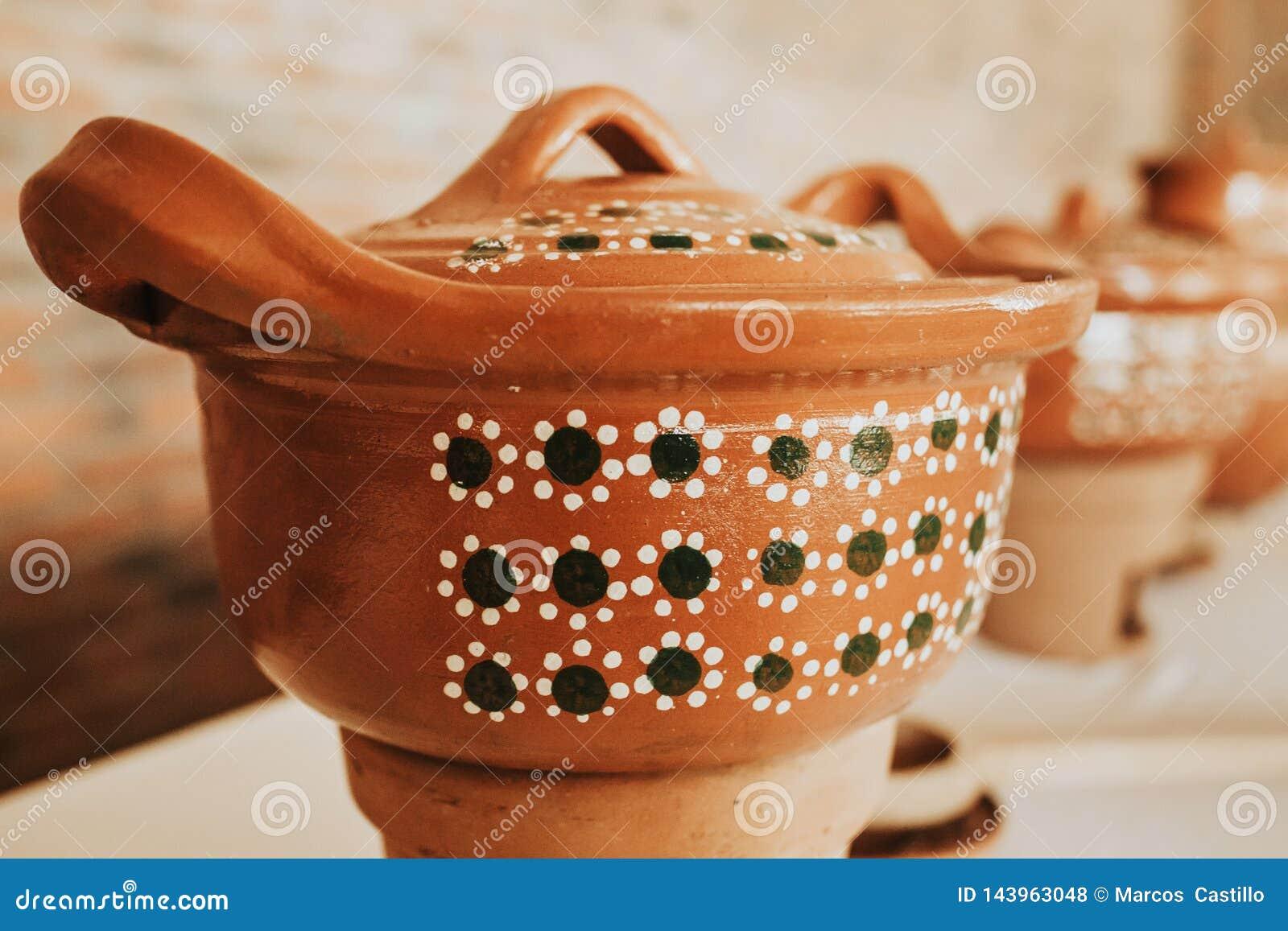 Mexicana или баки Cazuela для мексиканской кухни и шведского стола в Мексике