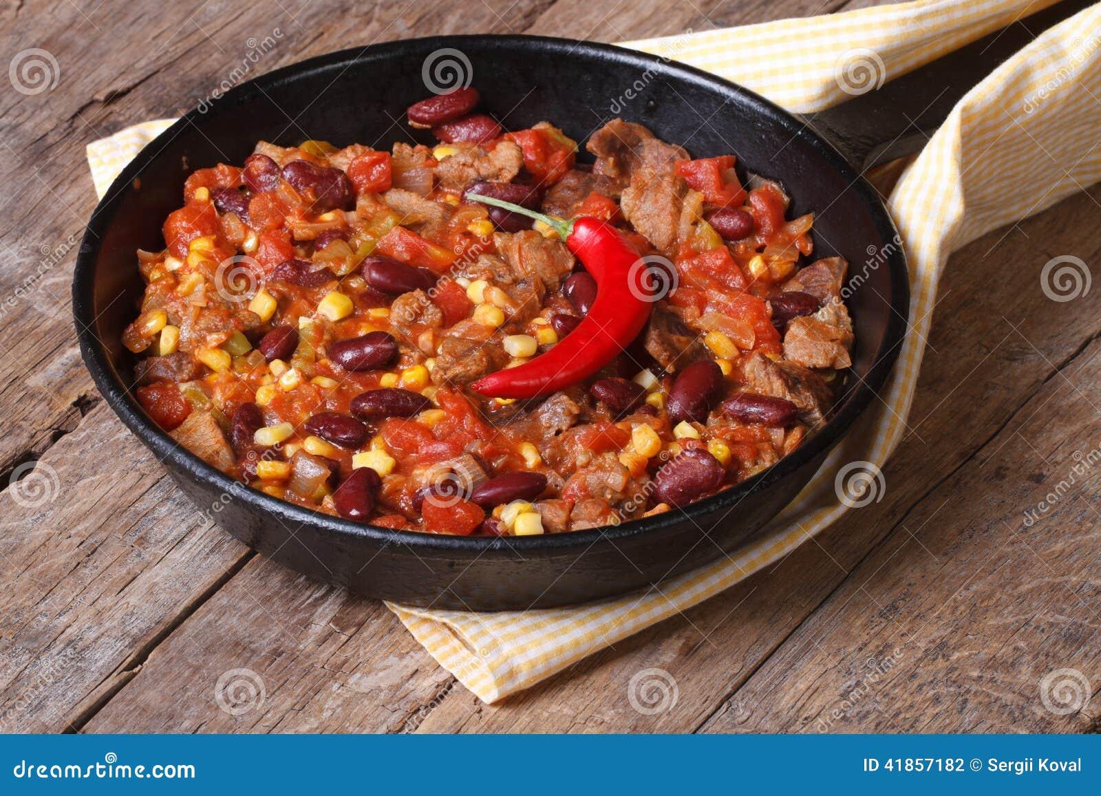 mat med chili