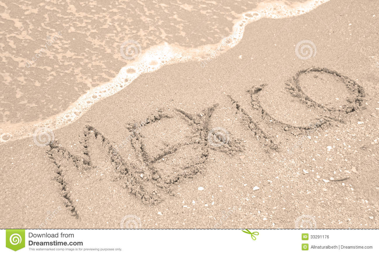 Mexico Beach and vacation stock photo. Image of ocean ...