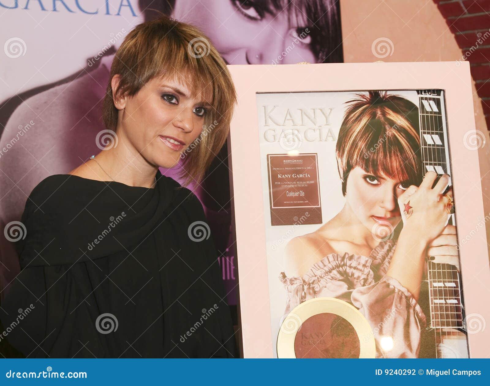 MEXICO CITY Singer Kany Garcia