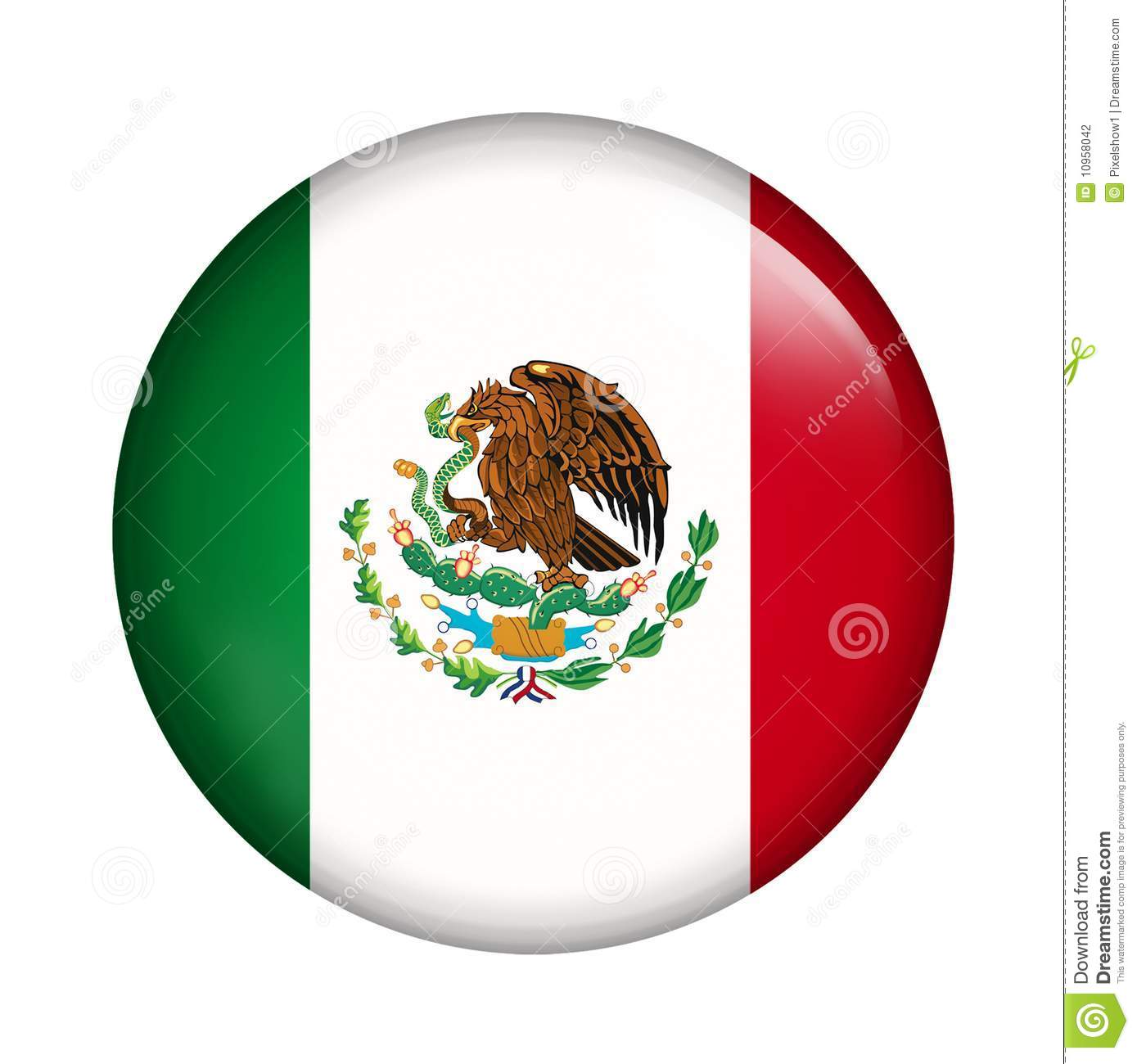 Mexico Flag Stock Photography - Image: 10958042