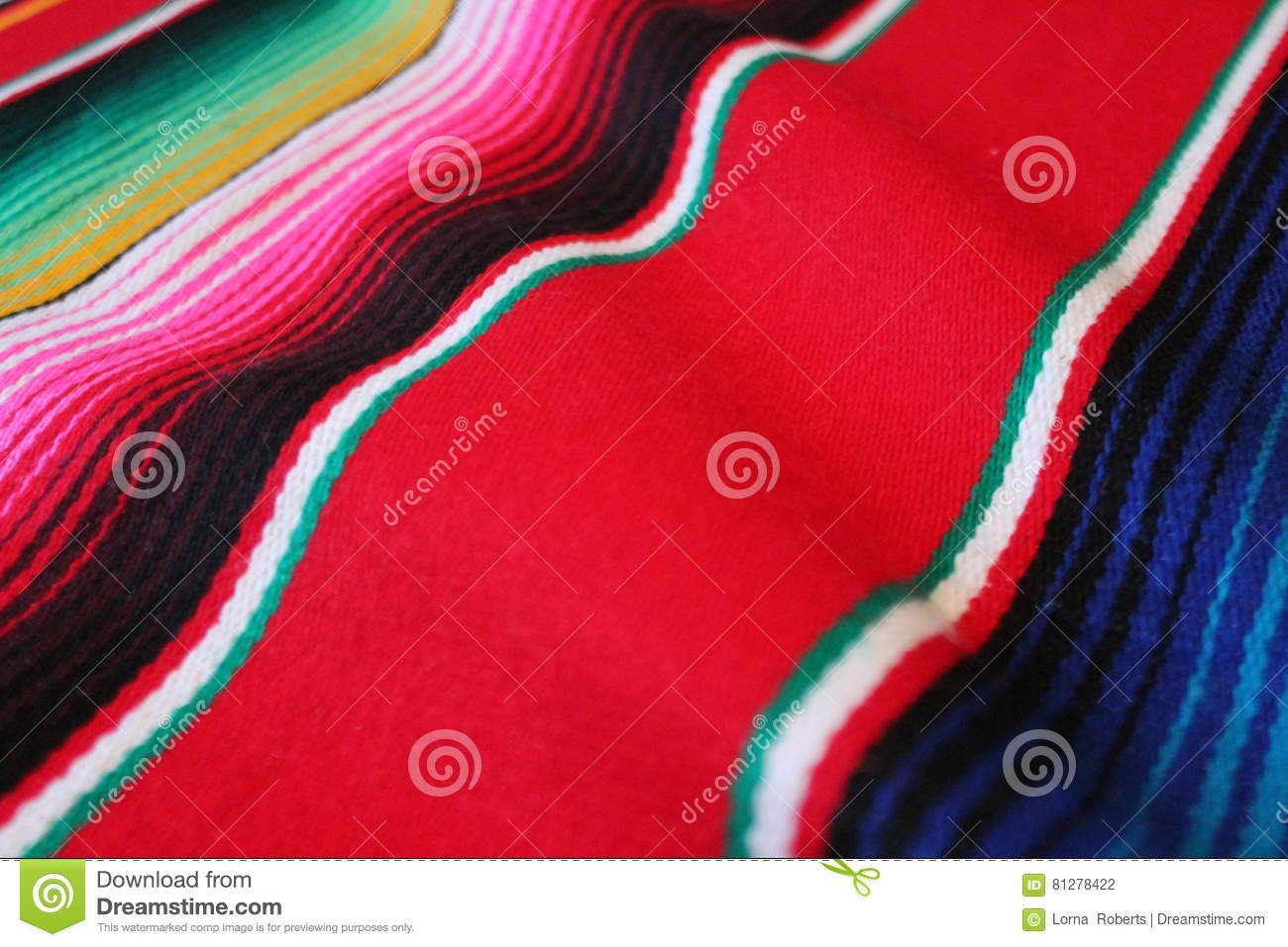 poncho Mexico Mexican serape background traditional cinco de mayo rug fiesta background with stripes