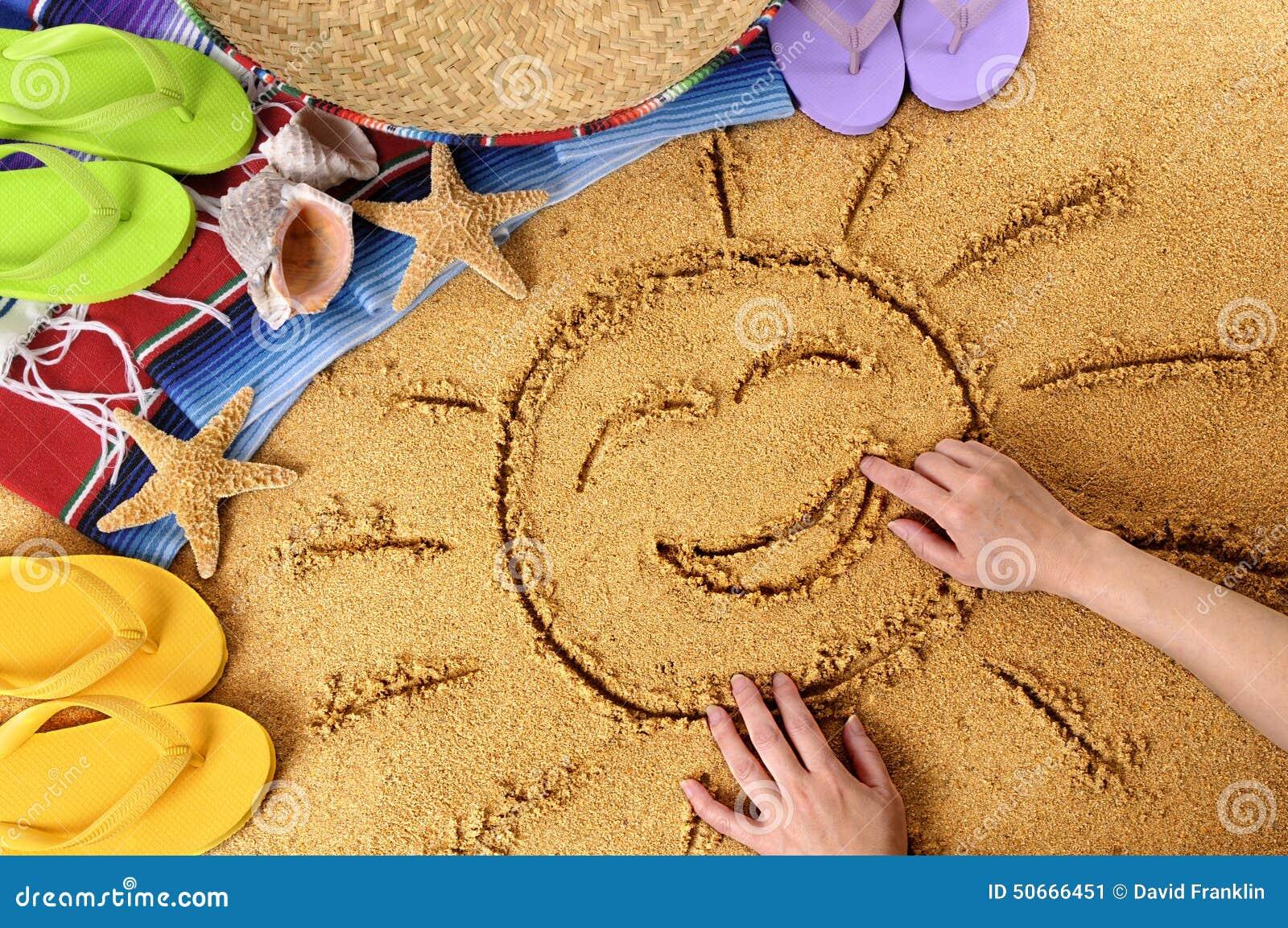 Mexico Smiling Beach Summer Sun Stock Photo Image 50666451