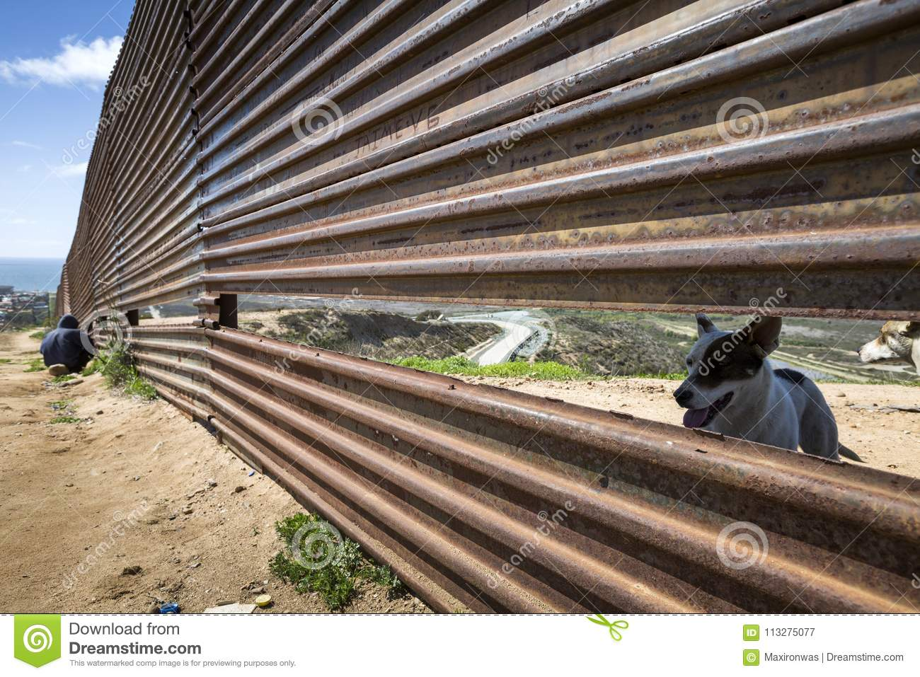 Mexico - Tijuana - The Wall Of Shame Editorial Photography - Image ... 193135c09a9