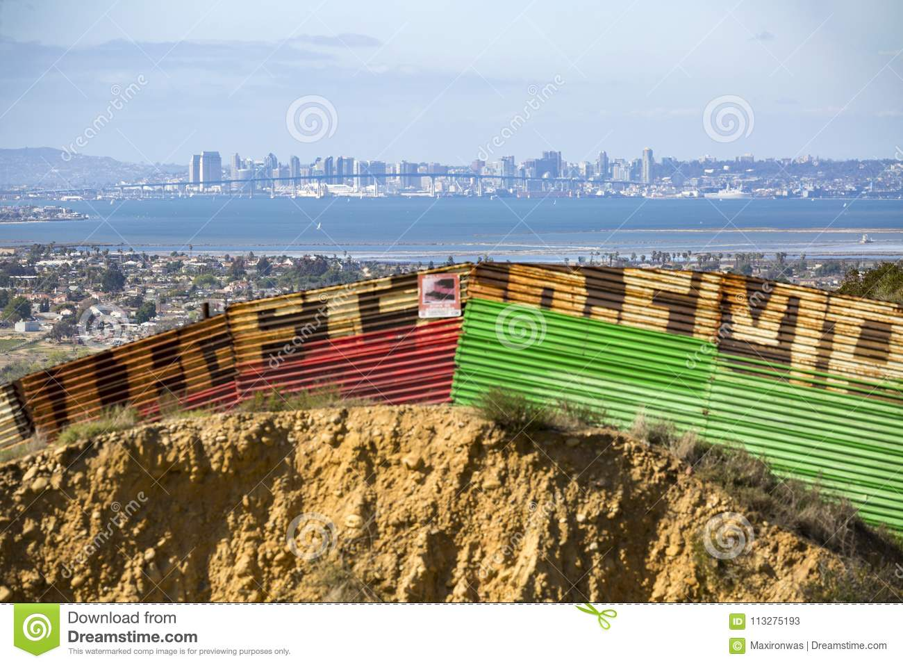 Mexico - Tijuana - The Wall Of Shame Editorial Stock Photo - Image ... d927e5da7e7
