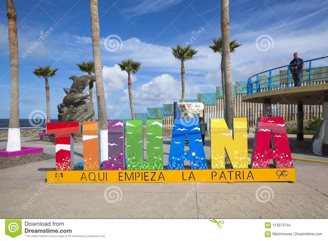 Mexico - Tijuana - The Wall Of Shame Editorial Stock Image - Image ... 6c95e52ccfd