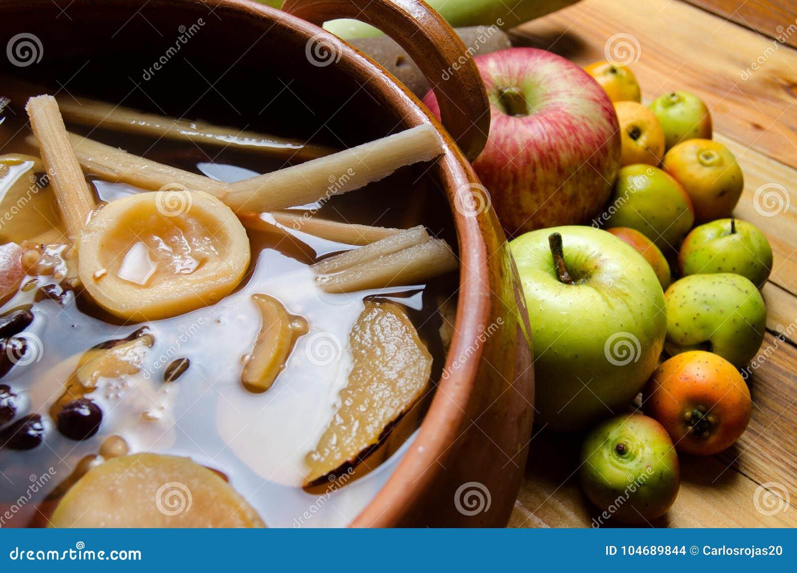Mexikan & x22; ponche& x22; frukt