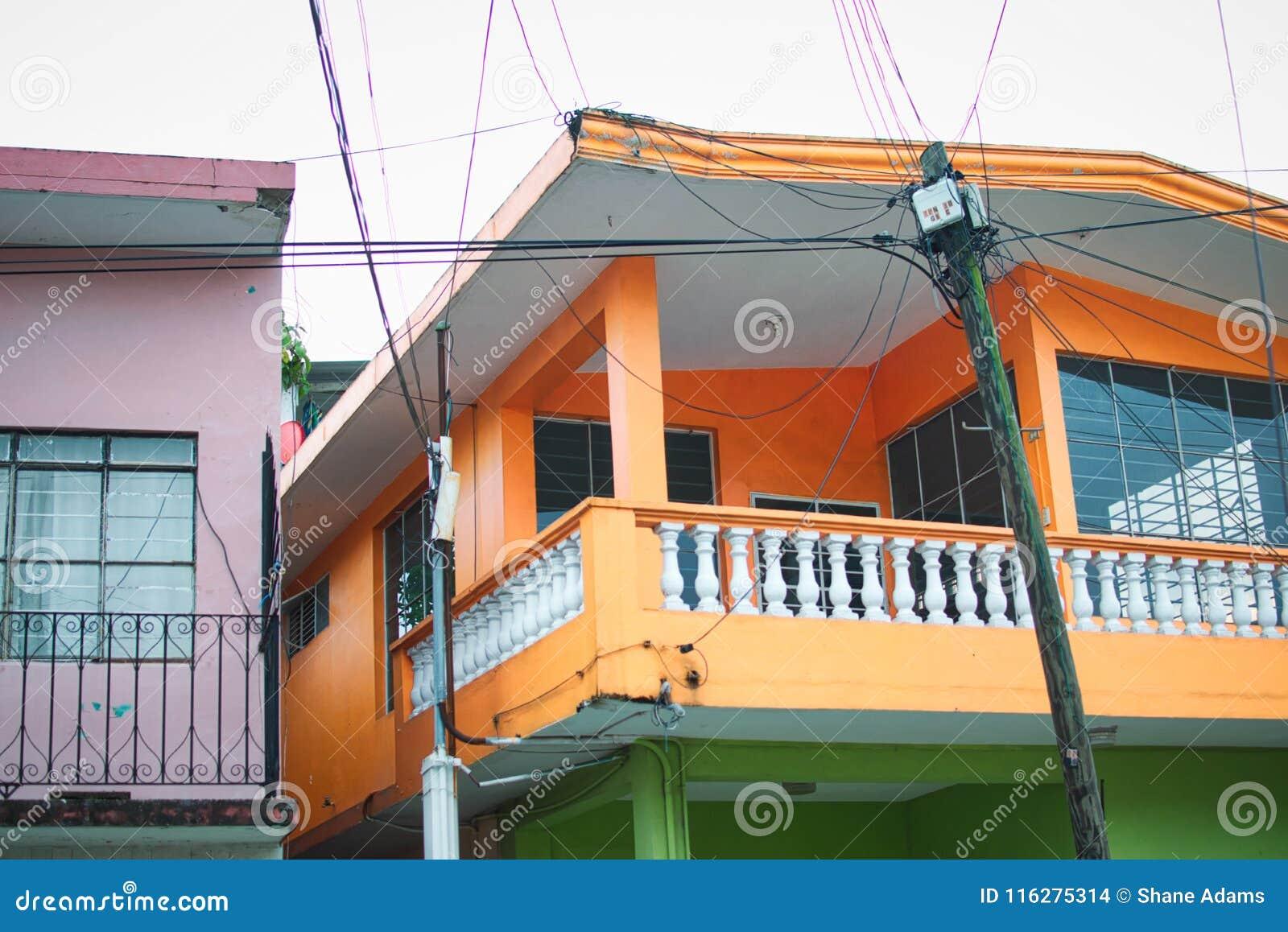 Mexikanische Haus-Details