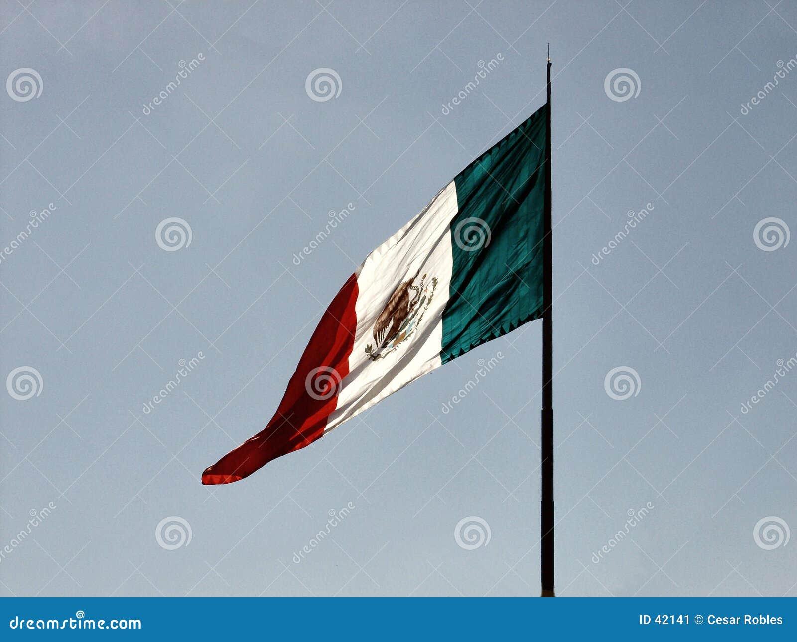Mexikanische Markierungsfahne