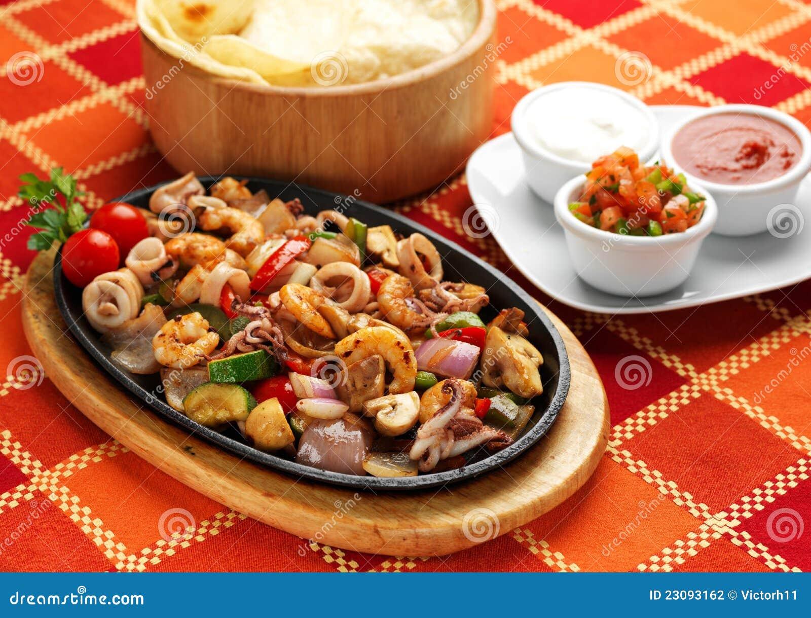 Mexikanische Nahrung - Fajita