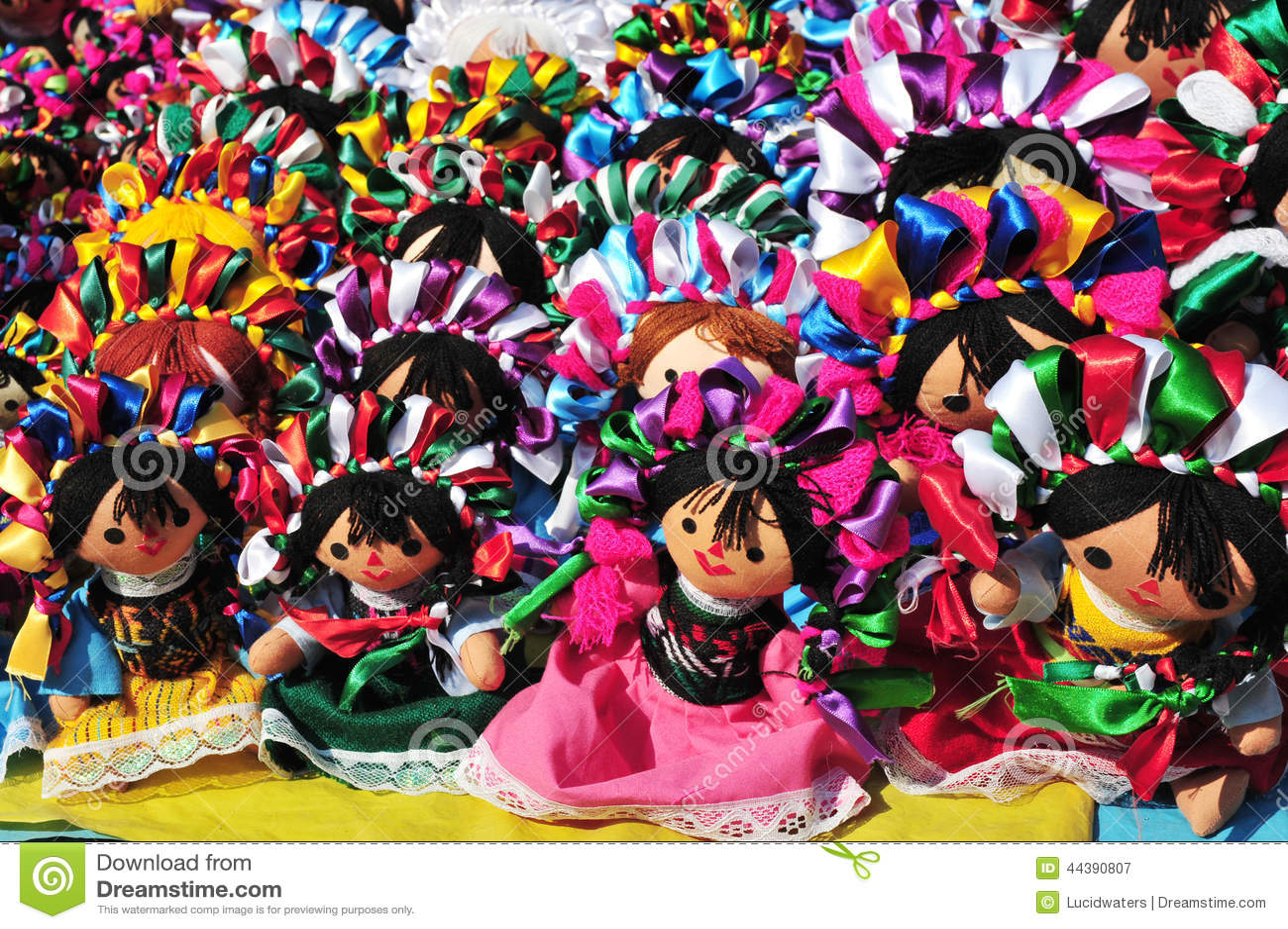 Mexikanische Puppen