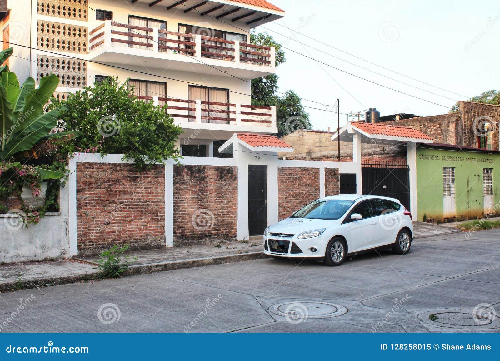 Mexikanische Straßen-Szene