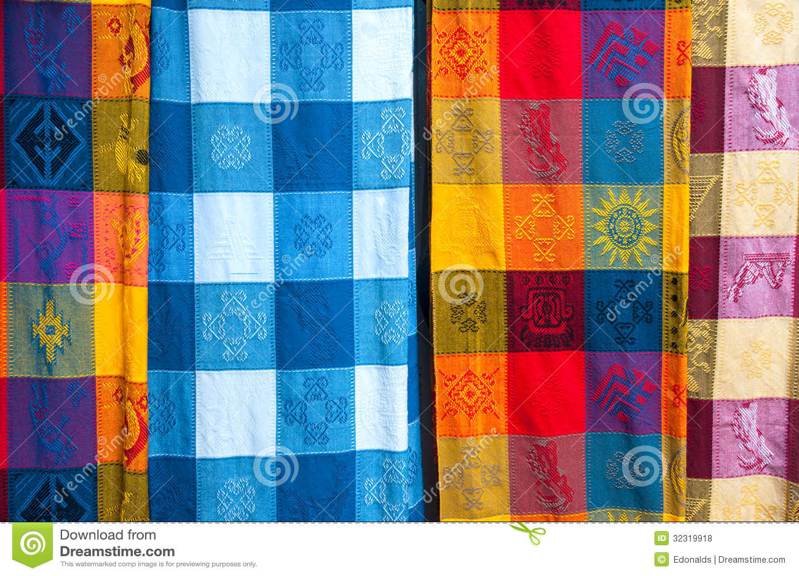 mexikanische tischdecken lizenzfreie stockfotos bild. Black Bedroom Furniture Sets. Home Design Ideas