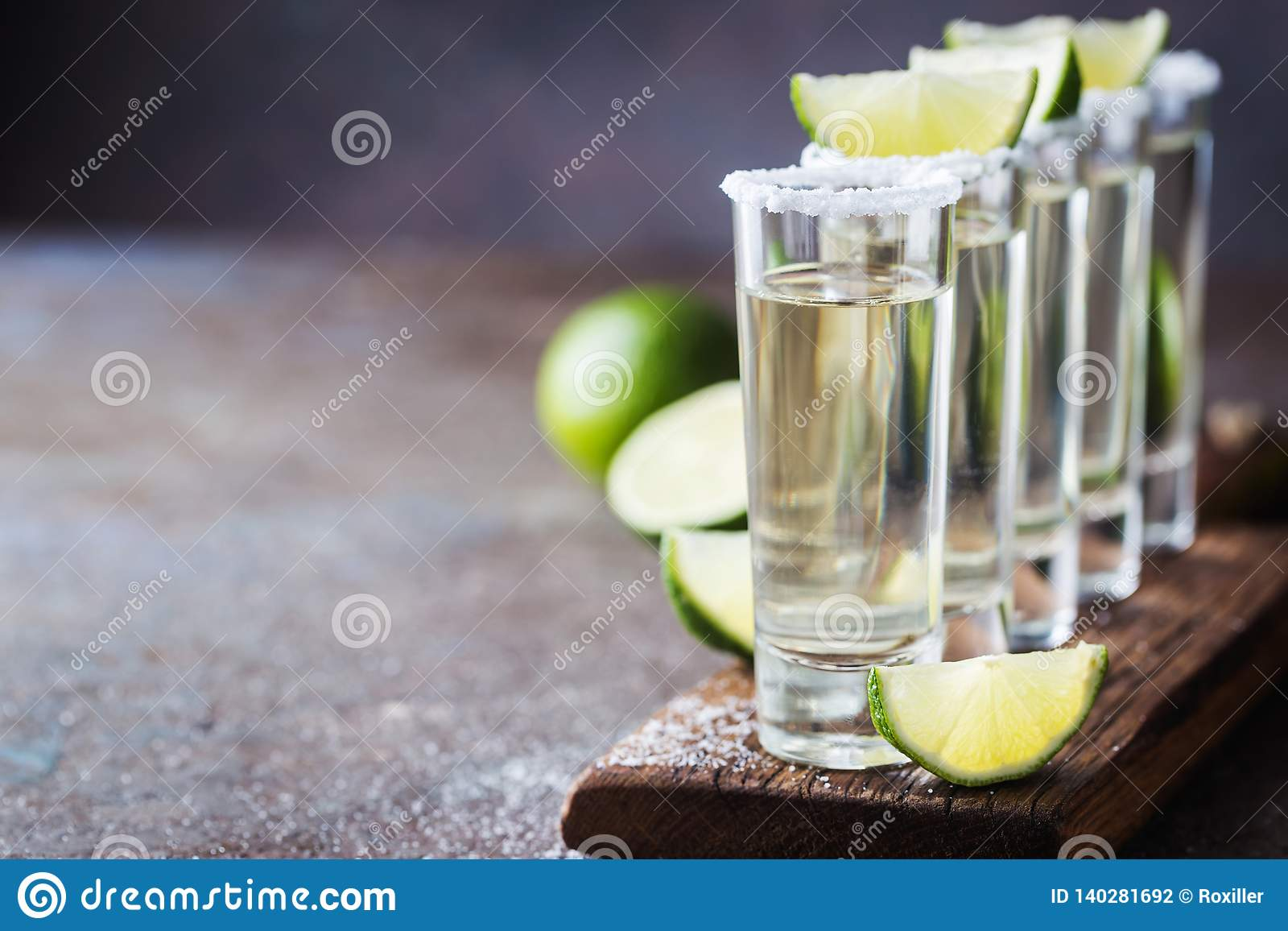 Mexikanischer Goldtequila